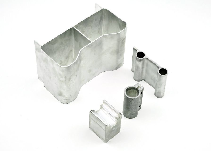 Special Extrusions Made for Different Customers. Medical, Defense, and Motorcycle Industries.