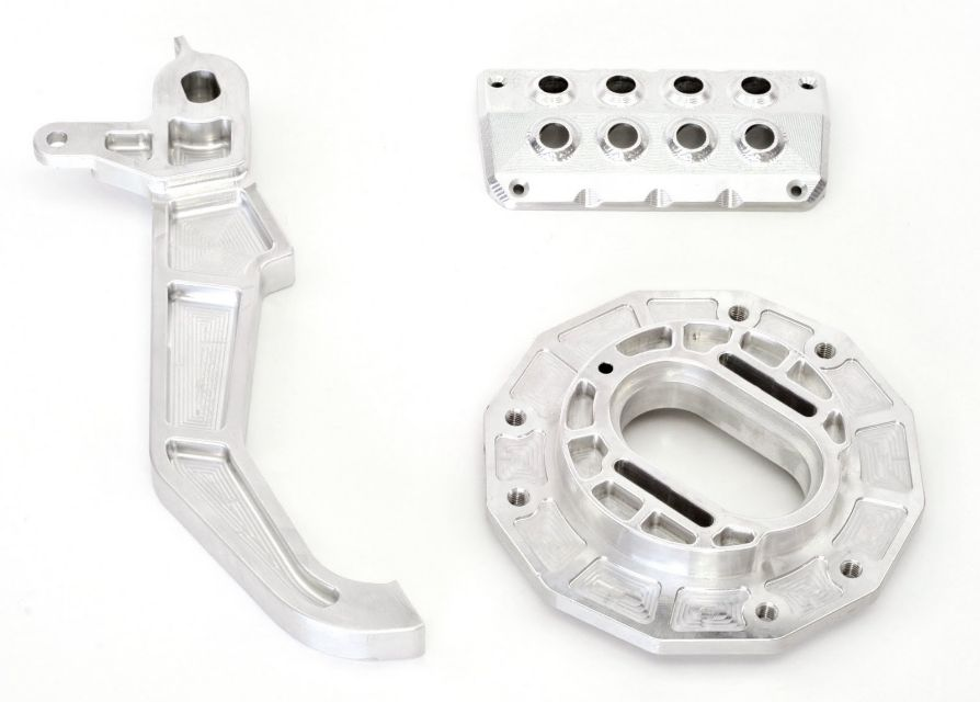 CNC Milled Parts. Automotive and ATV Industries.