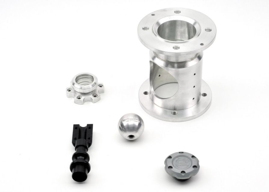 CNC Turn Parts with CNC Milling Operations. Automotive and Defense Industries.